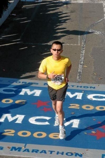 Seven Marathons on Seven Continents - Washington DC