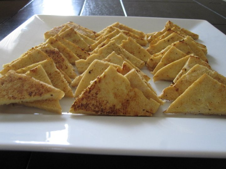 Cashew Stir Fry - Tofu, cut in triangles and dry fried