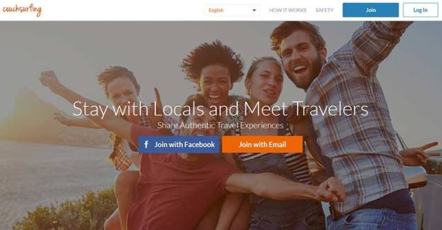 Couchsurfing tips - stay with locals and meet travelers