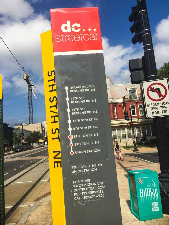 Downtown D.C. Hostel - The Streetcar is right outside