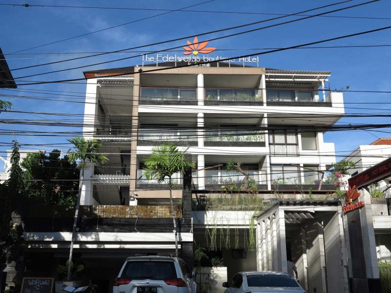 Edelweiss Boutique Hotel Bali front
