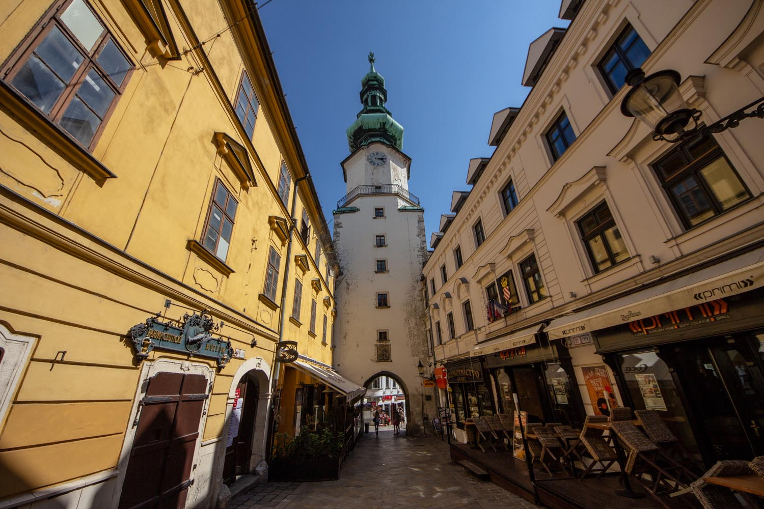 St. Michael's Gate is a top thing to see in Bratislava
