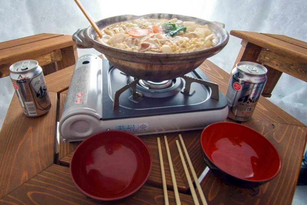 Noroshi-Nabe, or Japanese Hot Pot