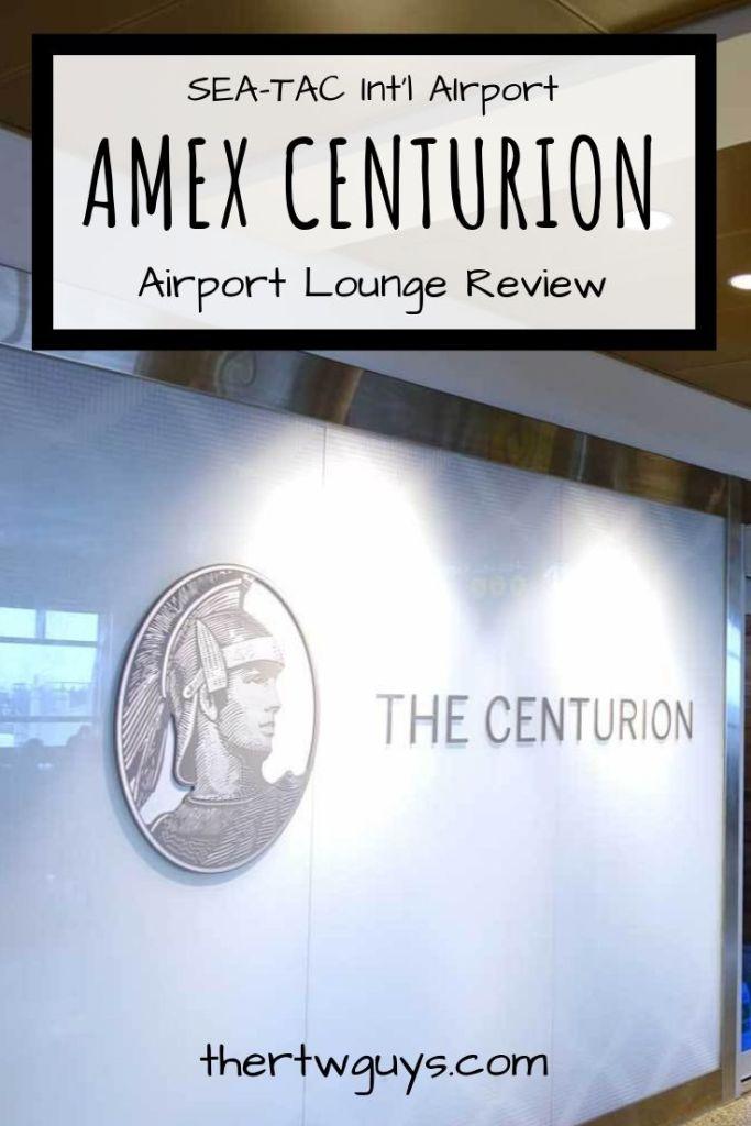 seattle amex centurion pinterest