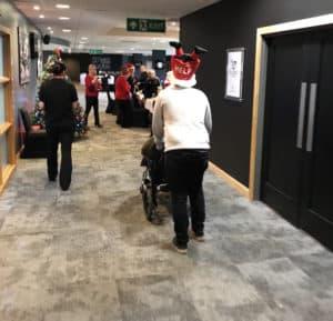 Nick helping at CTE Dec 2017