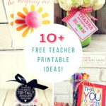 SUPER, SIMPLE Teacher Appreciation Printables!