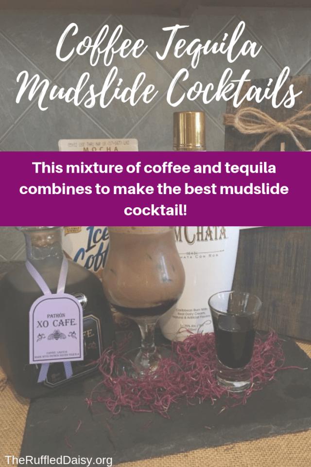 Coffee Tequila Mudslide PIN