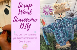 Scrap Wood Scarecrow DIY