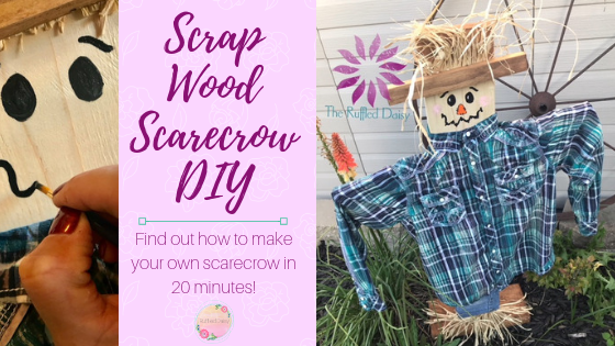 Scrap Wood Scarecrow DIY PIN