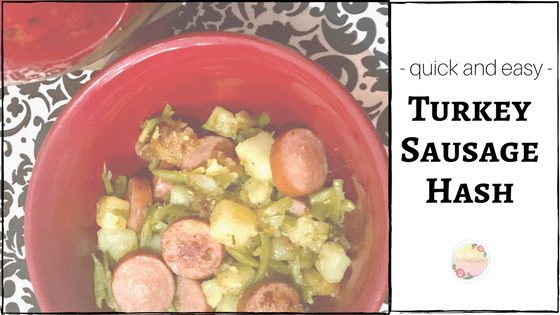Turkey Sausage Hash