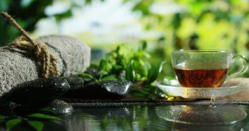 in home spa tea