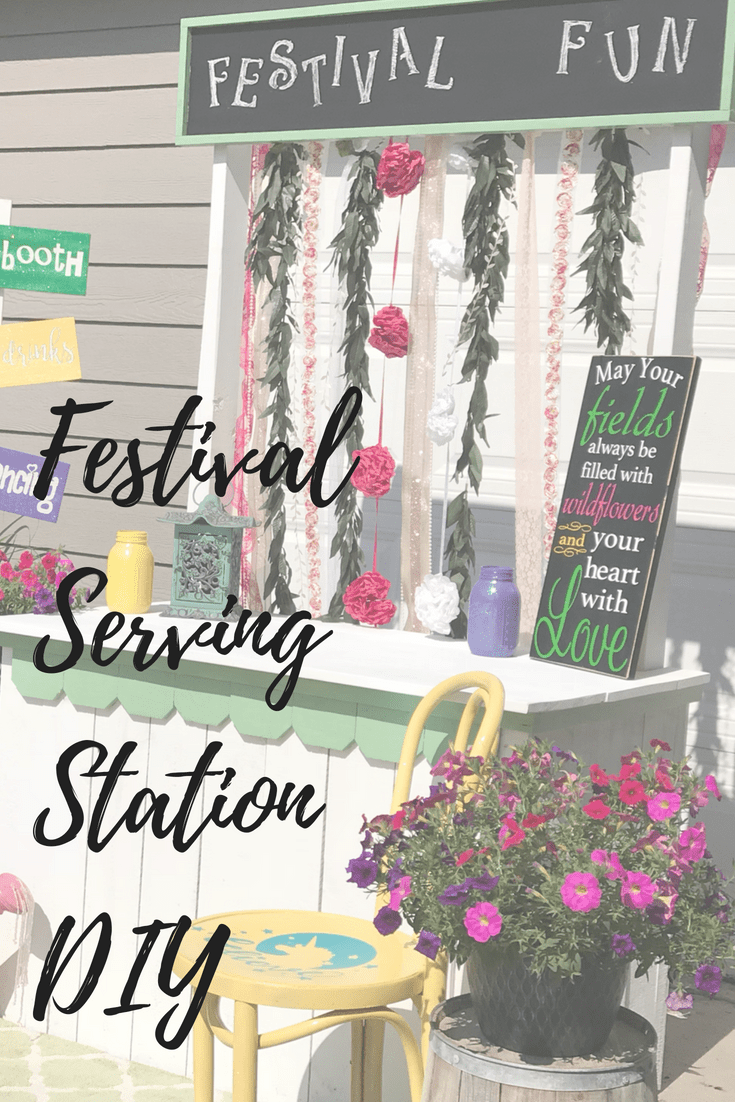 DIY Festival Serving Station PIN