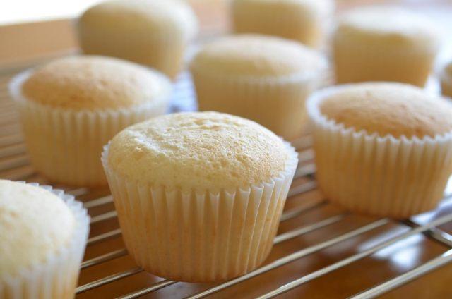 Heavenly Margarita Cupcakes cooling
