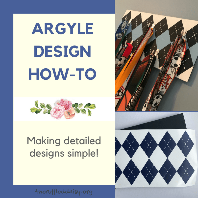 Easy Argyle Design DIY FB