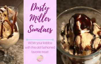 Old-Fashioned Dusty Miller Sundaes