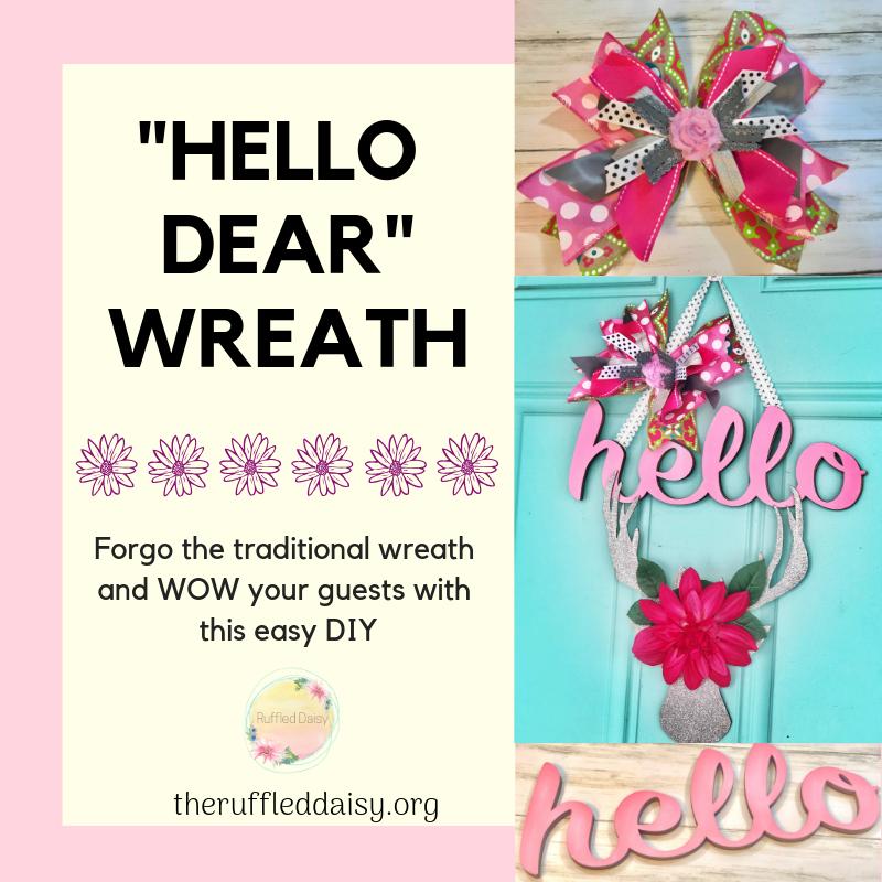 Hello Dear Valentine's Wreath