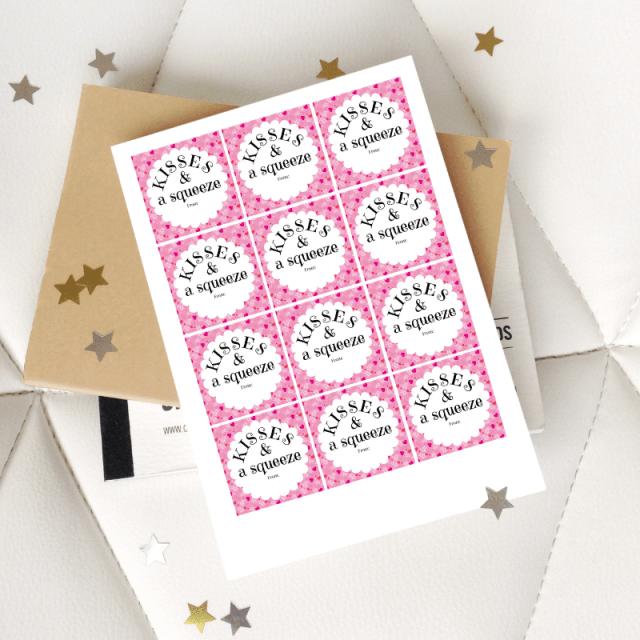 Printable Squeeze Valentine Sample