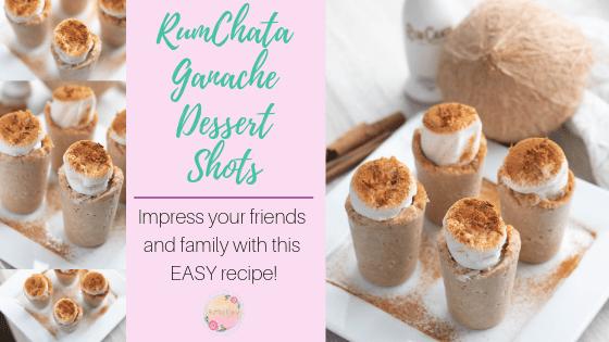 RumChata Ganache Dessert Shot