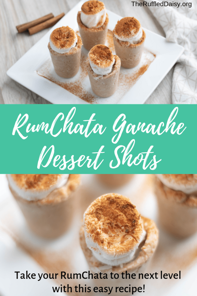 RumChata Ganche Dessert Shot