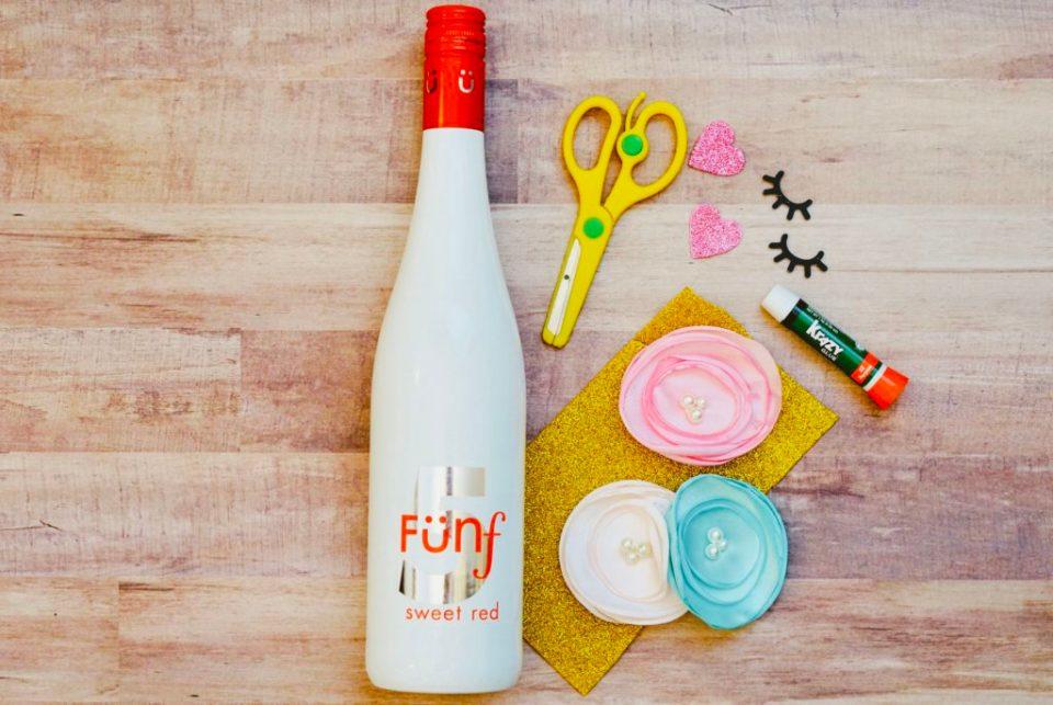 Unicorn Wine Bottle