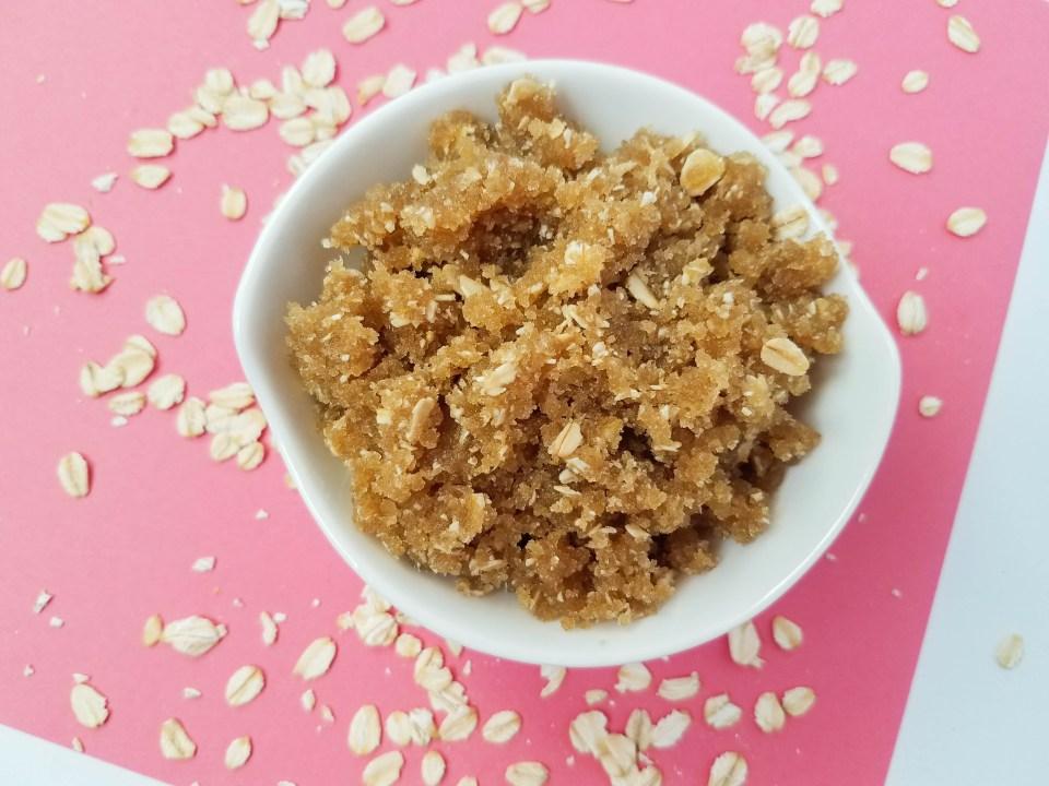 Oatmeal and Brown Sugar Scrub