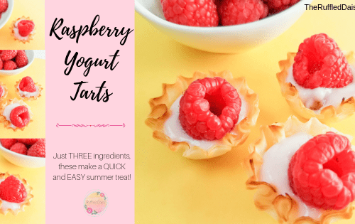 Raspberry Yogurt Tart