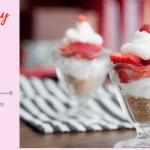 Strawberry Pretzel Dessert Cups