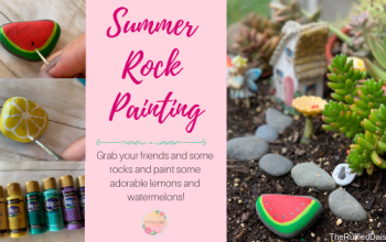 Summer Rock Painting and How To Start Your Own Hide and Seek Group