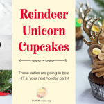 Reindeer Unicorn Cupcakes