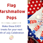 Easy 4th of July Marshmallow Pops