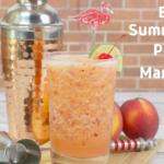 Easy Summertime Peach Margarita
