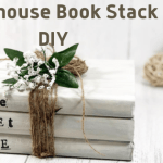Dollar Store Home Sweet Home Farmhouse Book Stack