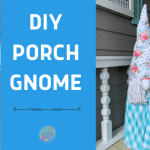 Summertime Porch Gnome DIY with Interchangeable Hat