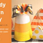 Candy Corn Vase DIY