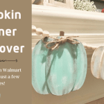 Easy Pumpkin Banner Makeover DIY
