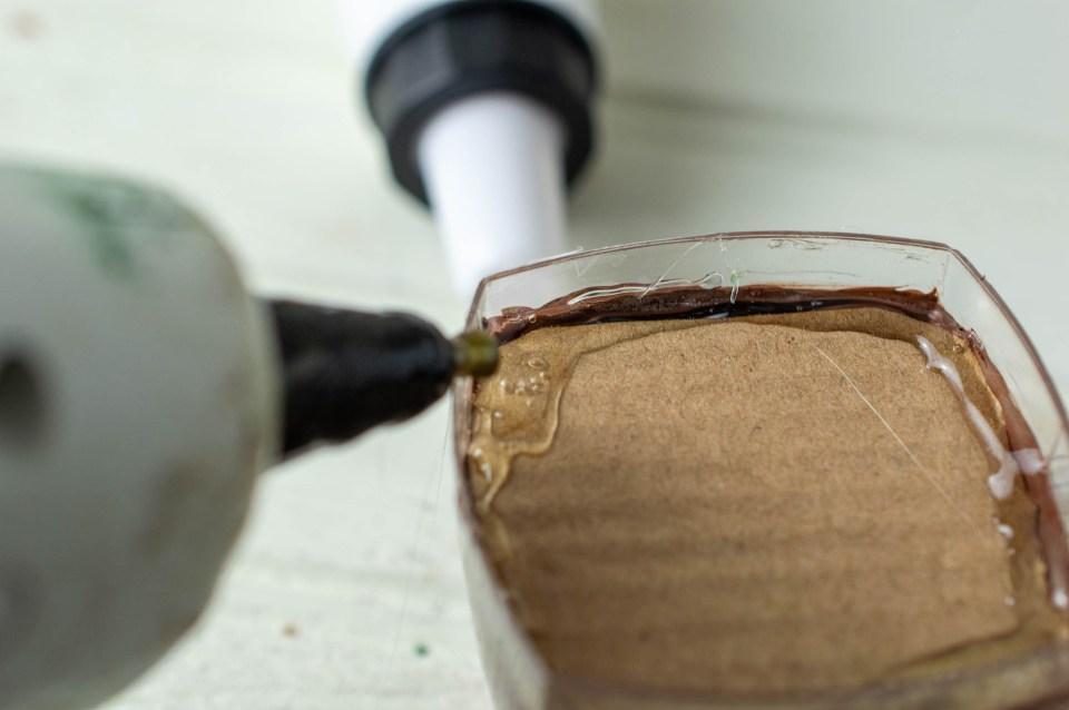 Faux Hot Cocoa Ornament process