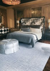 scenes from High-Point-Market: french heritage textureweave broadloom carpet by nourison