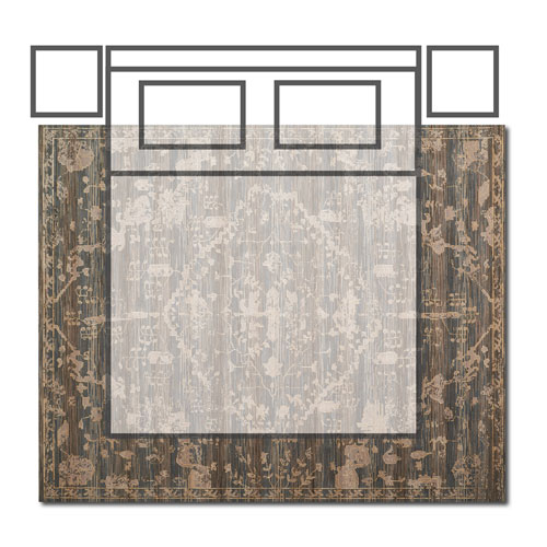 How to pick the right rug size for your room - 9x12 bedroom rug