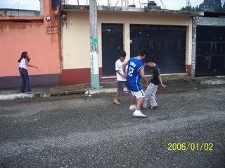 Loitering-Street Soccer