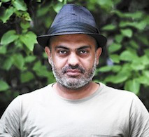 Hassan Blasim (photo by Ahmed Al-Nawas)