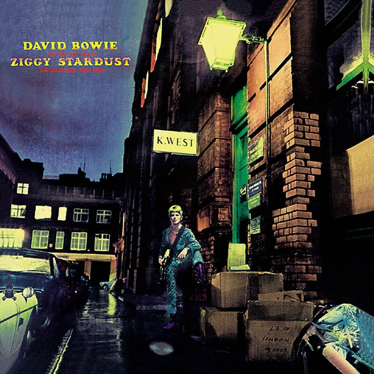 Image result for the rise and fall of ziggy stardust and the spiders from mars