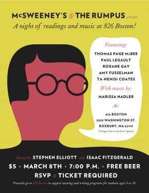 McSweeney's and The Rumpus Rock AWP