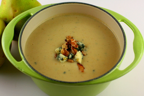 Pear and Stilton Soup