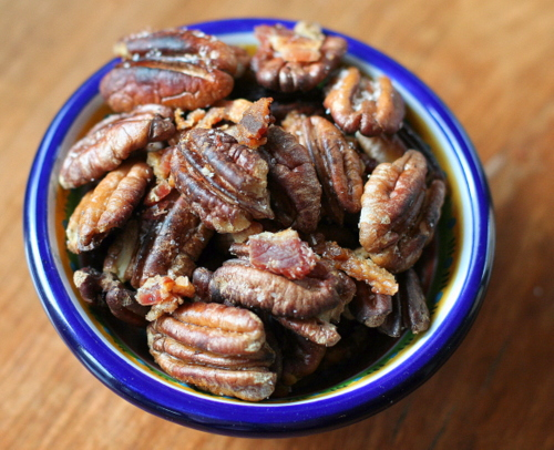 Bacon Fried Pecans