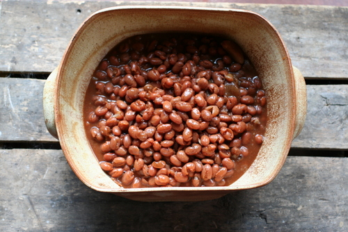 Southern Baked Shelly Beans