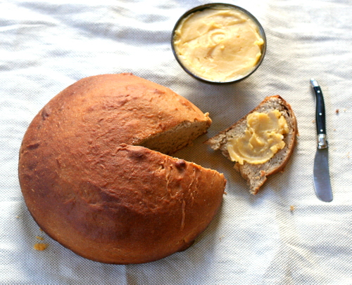 Holiday Spice Bread with Whipped Honey Butter