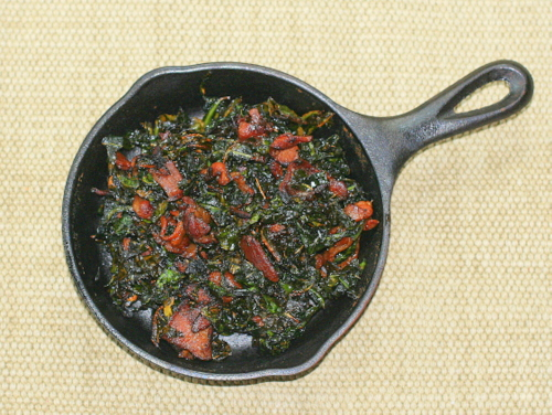 Cast Iron Collards