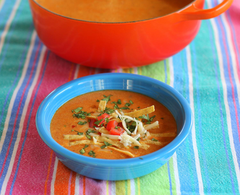 Queso Fundido Soup