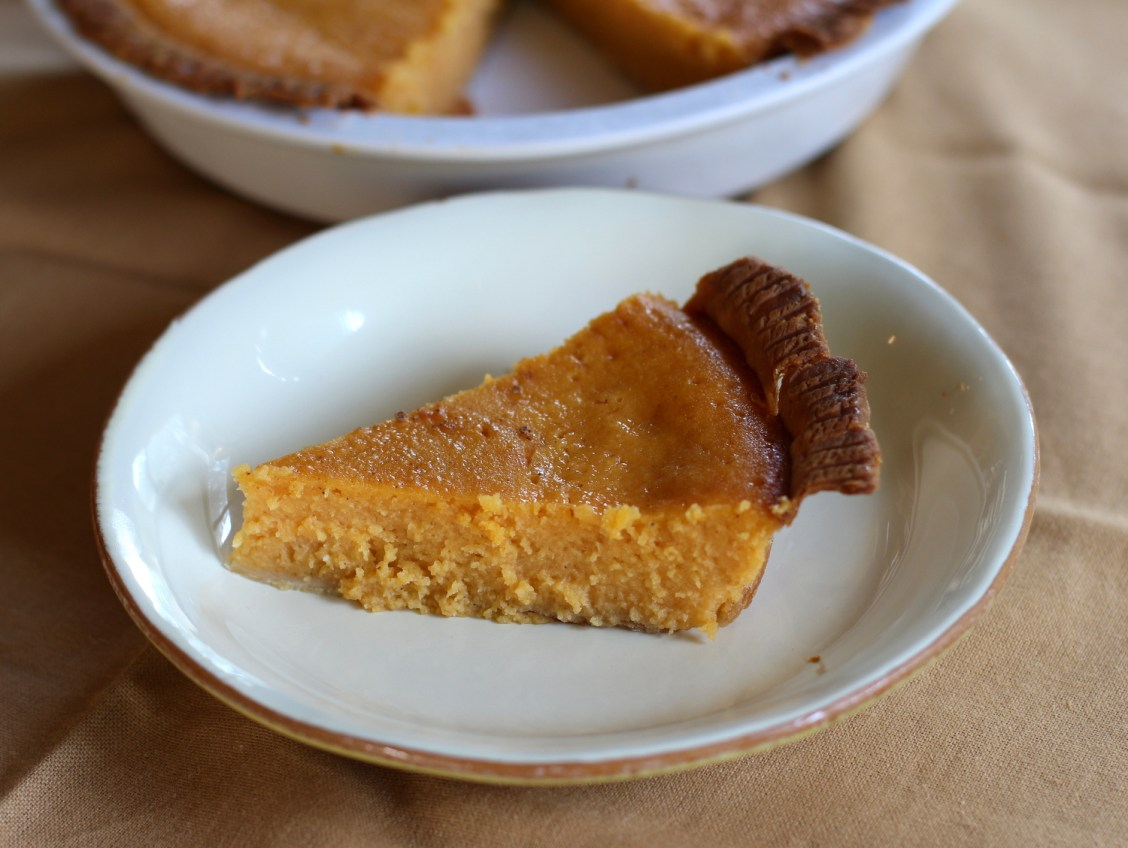 Sweet Potato Buttermilk Chess Pie