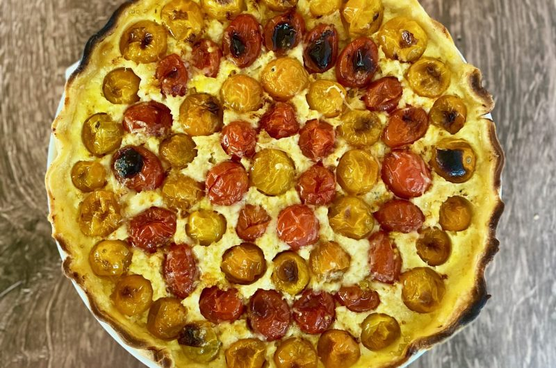 Savory Tomato Frangipane Tart